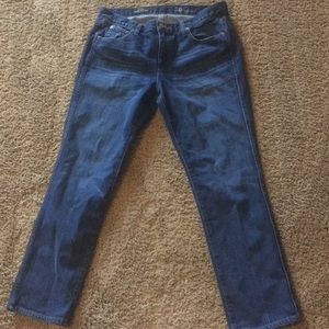 Jcrew vintage straight denim